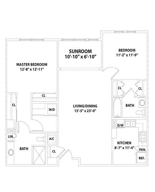 Kensington With Sunroom Floor Plan