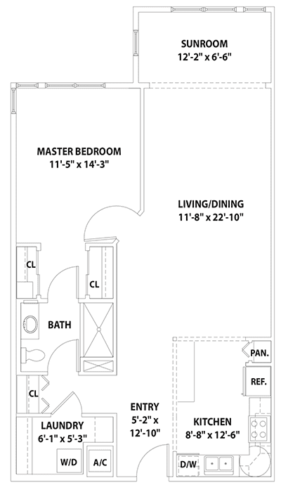 Windsor Floor plan